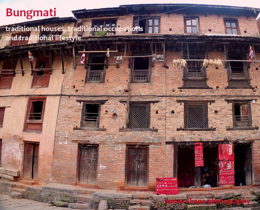 the sightseeing tour of Bungmati