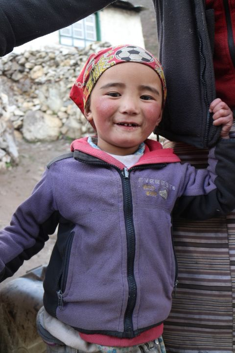 Sherpa Kid in Khumbu