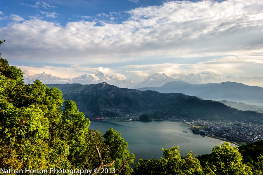 dramatic change in landscapes in Nepal