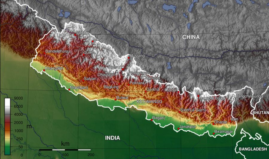 climatic conditions of nepal