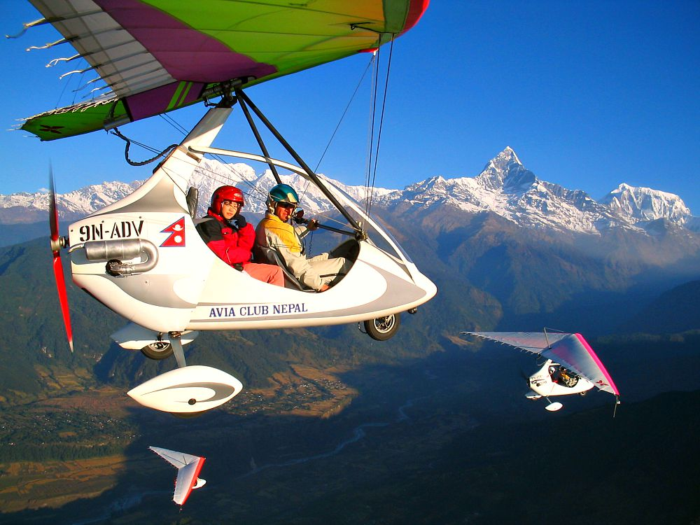 Ultralight Flights in Nepal